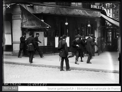 paris policiers 1920