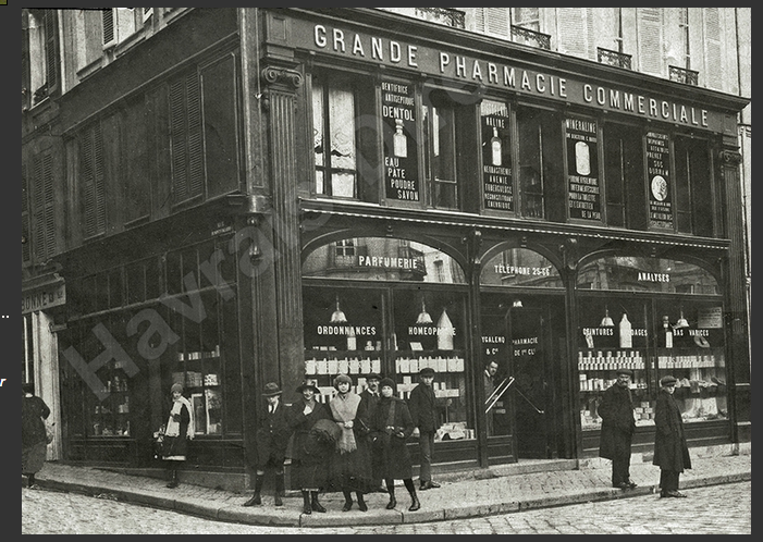 pharmacie façade