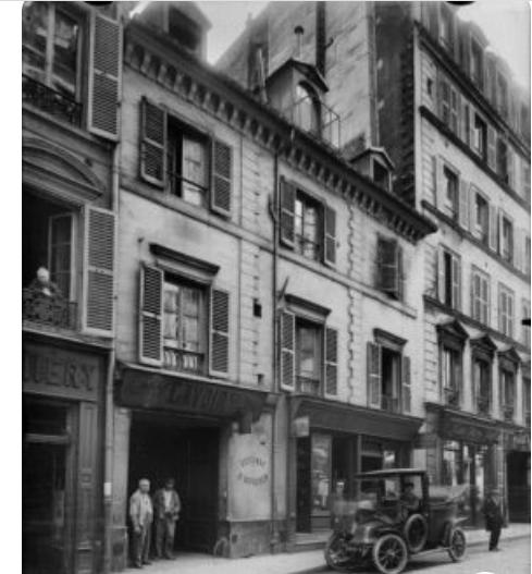 rue de paris fin années 20